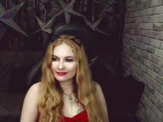 Sexy webcam show met redroses