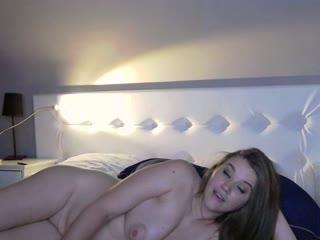 Sexy webcam show met neonstar